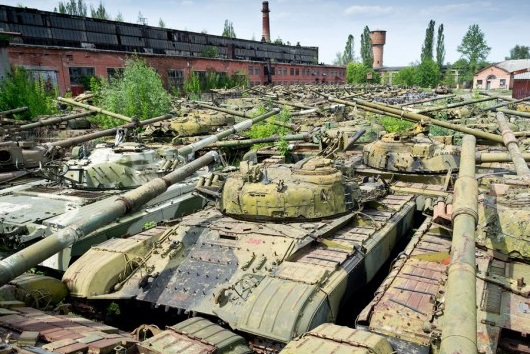 Graveyard of Tanks
