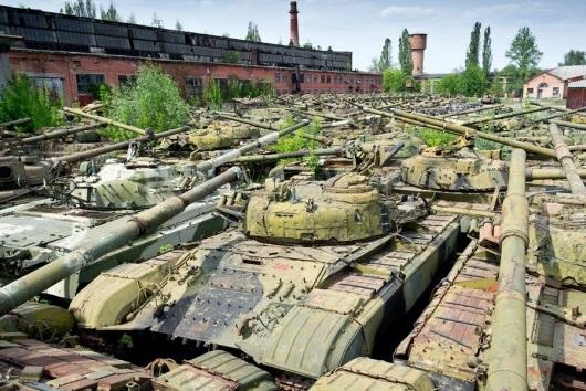 Graveyard of Tanks