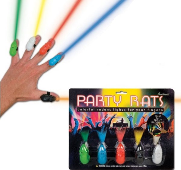 Turn Fingers Into Laser Lights