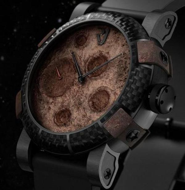 Moon Dust Inspired Watch