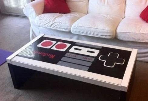 NES nerd inspired coffee table