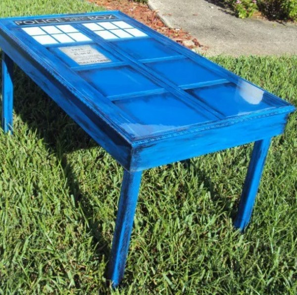 TARDIS inspired coffee table