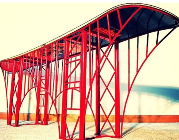 Bridge inspired coffee table