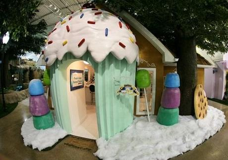 Sweet House Themed Office in Inventionland