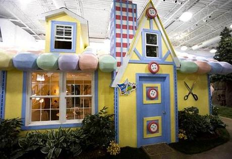 Crafts Themed Office in Inventionland