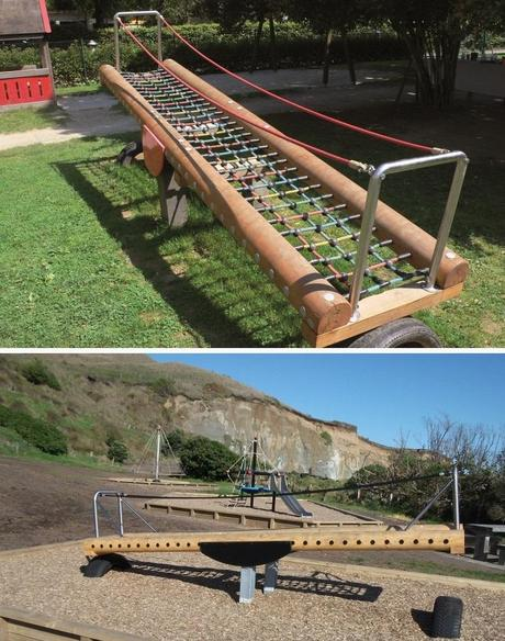 Standing Seesaw