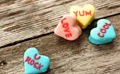 Love Heart Sweets Inspired Marshmallows