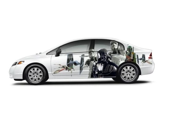 Star wars car decal sticker