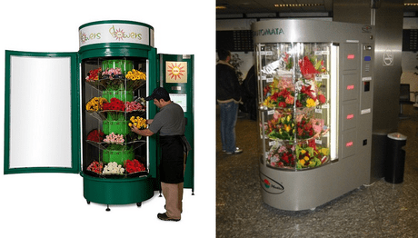 Flowers Vending Machine