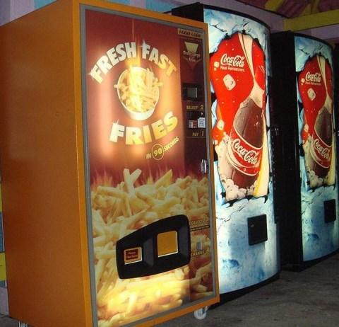 Top 10 Unusual Vending Machines