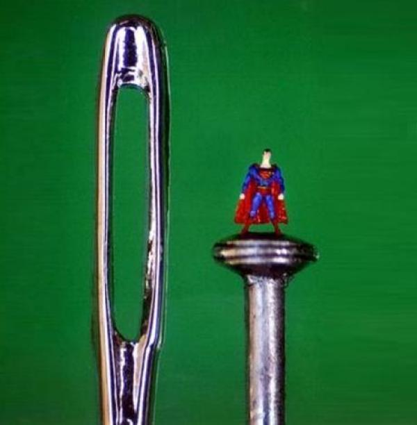 Miniature Sculpture: Superman