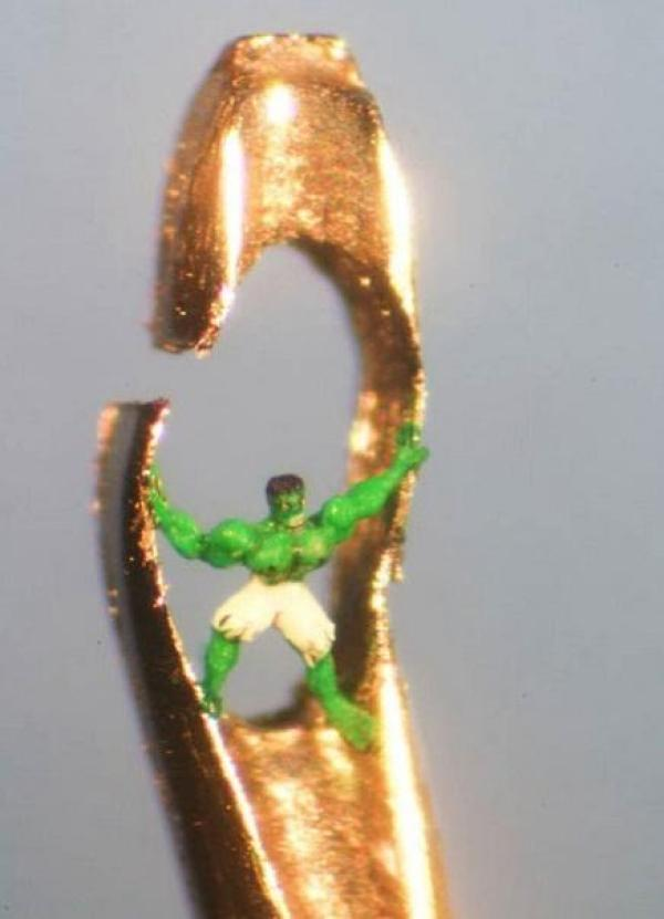 Miniature Sculpture: Hulk