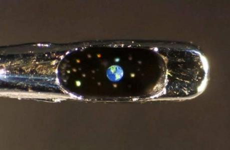 Miniature Sculpture: Earth from Space