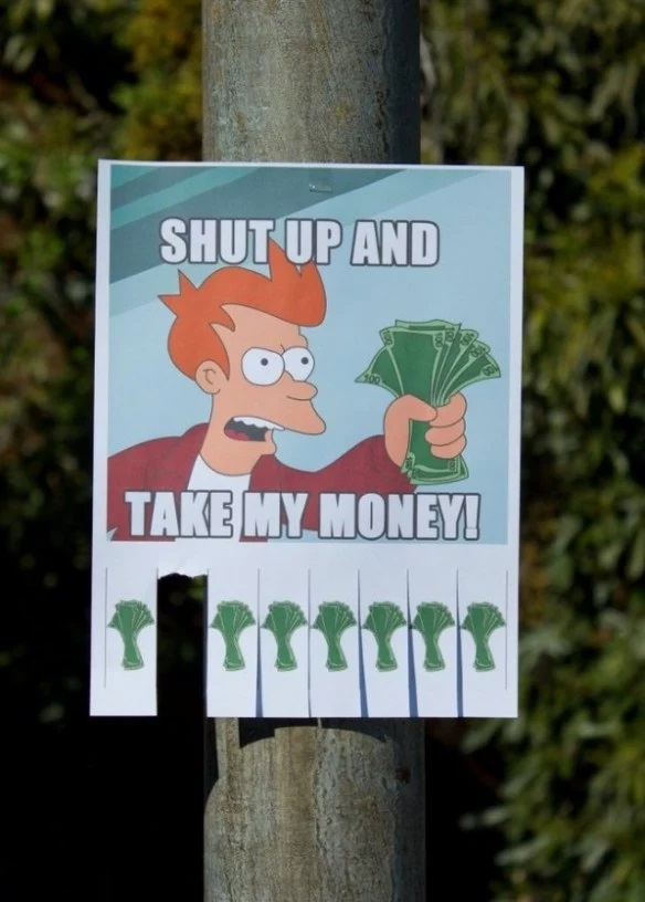 Top 10 Take one (Tear-Off) Paper Street Flyers