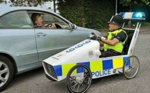 The World's Top 10 Most Unusual Police Vehicles