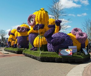 Ten Amazing Floats Covered in Flowers at the Bloemencorso Zundert Floral Parade