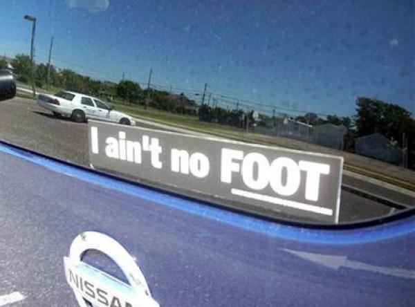 Top 10 Strangest Bumper Stickers