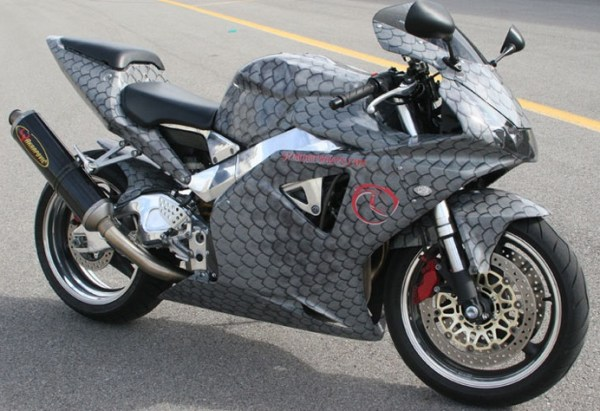 Top 10 Vehicles Covered in Snake Skin
