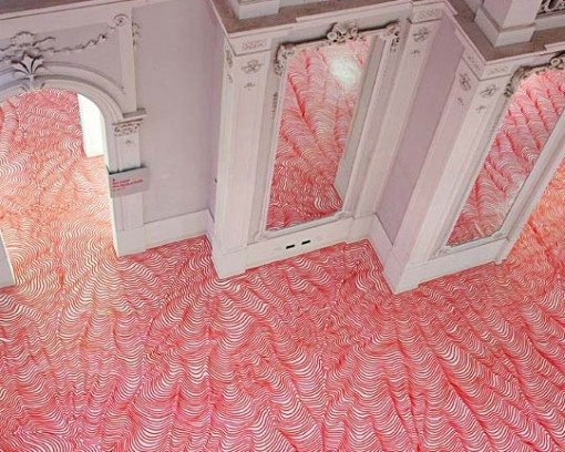 Top Amazing Works Of Art On Vinyl Floors By The Talented