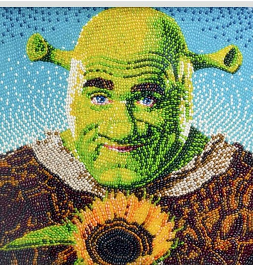 Top 10 Examples of Jelly Bean Mosaic Art