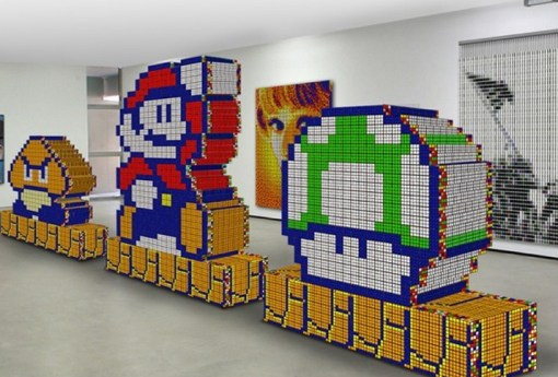 Top 10 Images of Rubik's Cube Art