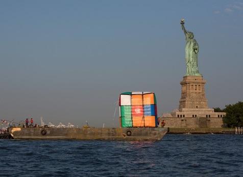 Top 10 Images of Rubik's Cube Art