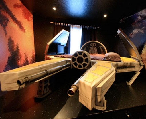 Star Wars TIE Fighter Bed