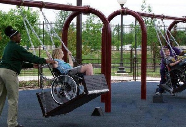 Top 10 Unusual Playground Swings