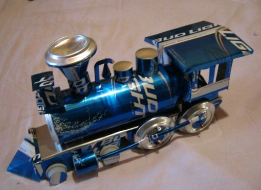 Top 10 Miniature Vehicles Made From Recycled Cans