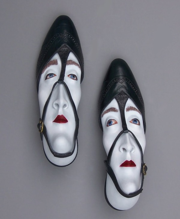 Top 10 Unusual Upcycled Shoe Sculptures