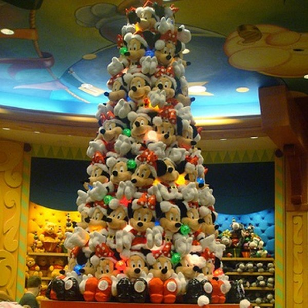 Ten Plushie Christmas Trees Made From Cuddly Toys
