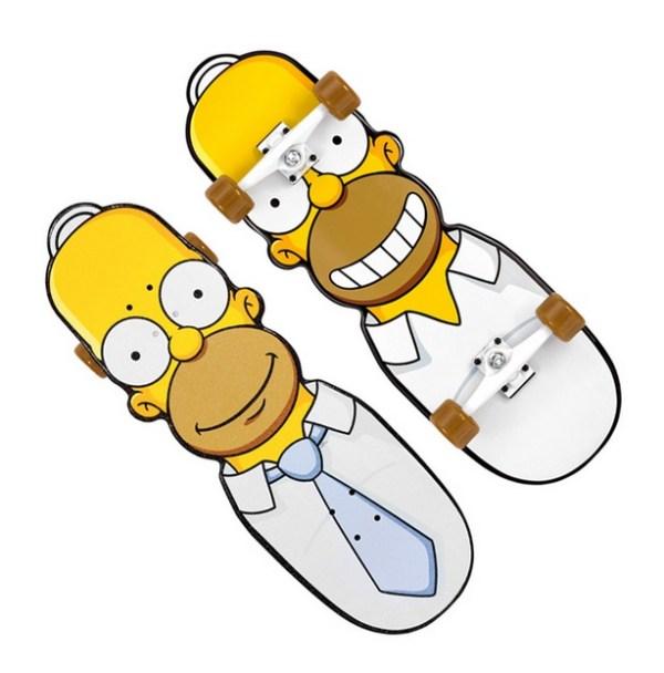 Homer Simpson Head Skateboard