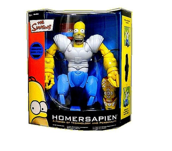 Homer Simpson Homersapien Robosapien RC Remote Control Robot