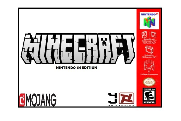 Minecraft Nintendo 64 Game