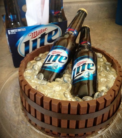 How To Make A Cake That Look Like Ice Barrel