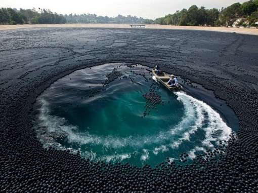 Top 10 Images of Lakes Covered in Something