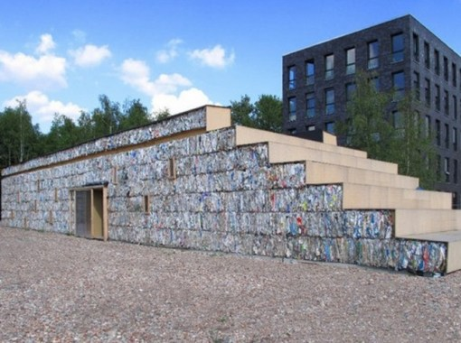 Houses Built From Recycled Materials : Top homes built from recycled materials