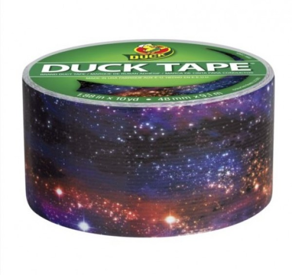 Galaxy Duck Tape