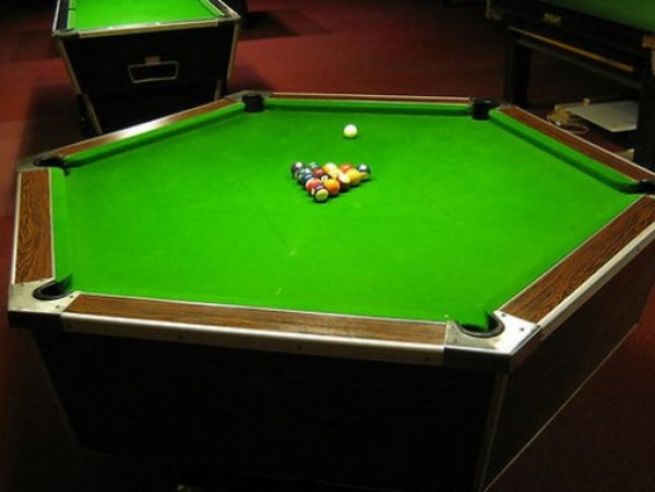 Top 10 Crazy and Unusual Shaped Pool Tables