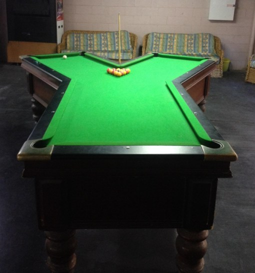 Top 10 crazy and unusual shaped pool tables for Covent garden pool table