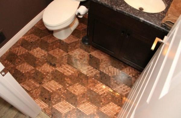 Top 10 Creative and Unusual Bathroom Floors