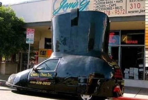 Top 10 Weird and Wacky Cars Shaped Like Shoes