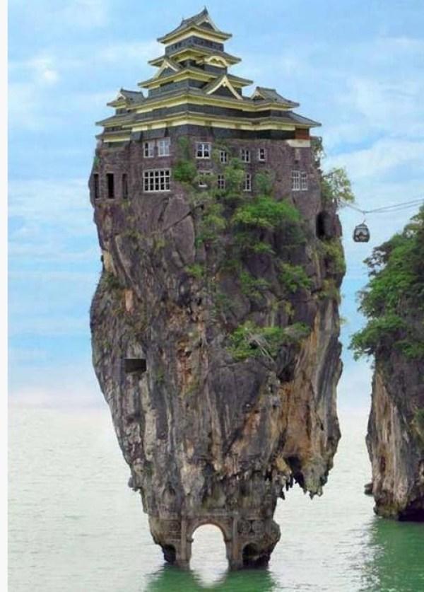 Top 10 Fake Islands of Solitude (Digital Art)