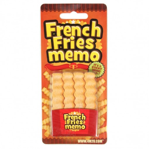 French Fry Post-it Notes