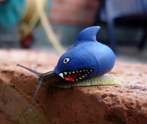 Top 10 Slow Moving, Creative Graffiti snails
