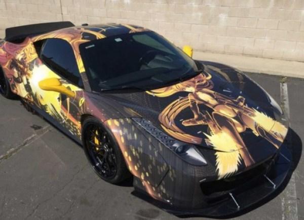Comic Custom Ferrari