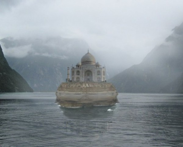 Taj Mahal on Rock Island