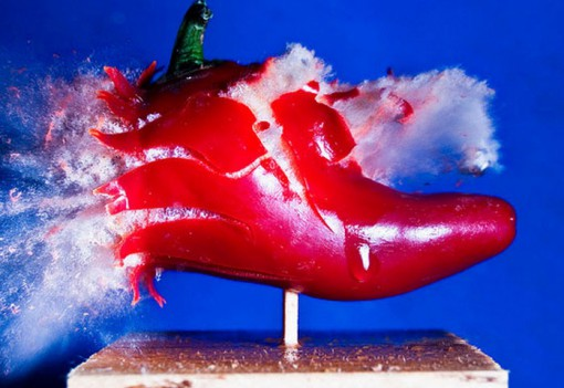 Top 10 Amazing Pictures Of Exploding Food