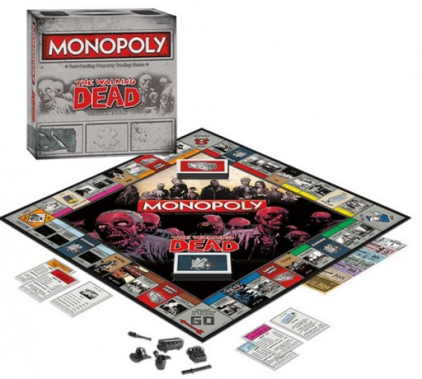 Monopoly : The Walking Dead Survival Edition