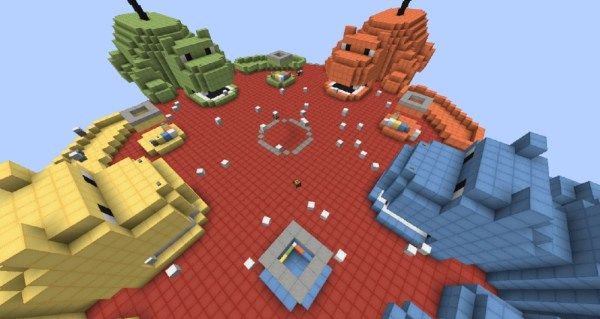 Hungry Hungry Hippos Minecraft